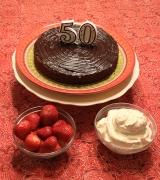 Chocolate Almond Flourless Torte[Passover]